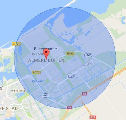 werkgebied-slotenmaker-almere-buiten