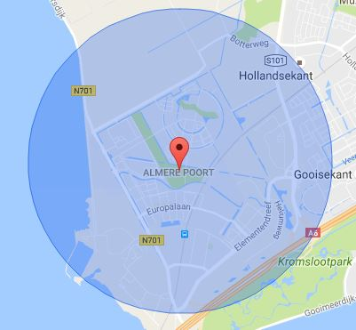 werkgebied-slotenmaker-almere-poort