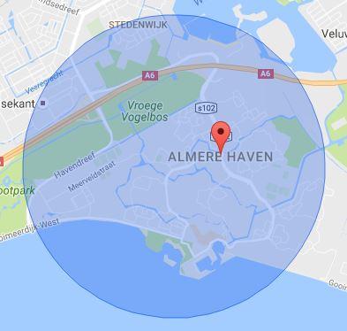 werkgebied-slotenmaker-almere-haven