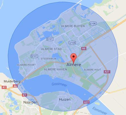 werkgebied-slotenmaker-almere